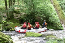 raft rafting wildwatervaren
